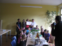 Scheckübergabe an den BUND KV Schmalkalden-Meiningen