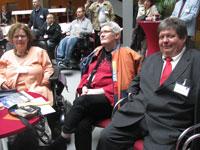Zu Gast beim Jahresempfang des Beauftragten der Bundesregierung für die Belange behinderter Menschen, Hubert Hüppe