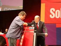 Behindertenpolitische Positionen im Europawahlprogramm der Partei DIE LINKE verankert