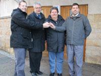 Umsetzung eines behindertengerechten Zugangs zur Toilette am Markt in Eisenach